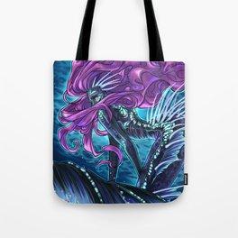 Deep Sea Mermaid Tote Bag