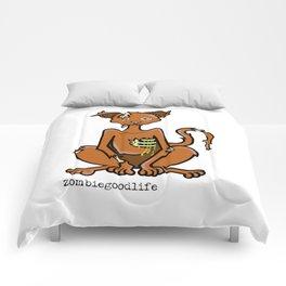 Zombie Kitty Comforters