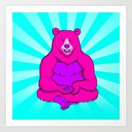 Bearilla Art Print