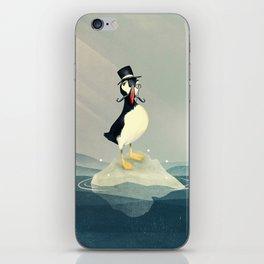 Lord Puffin iPhone Skin