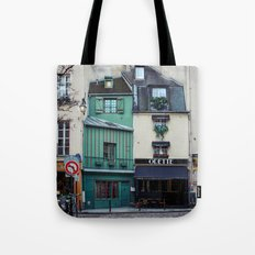 The Streets of Paris, France. Tote Bag