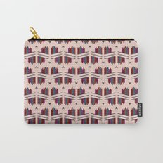 Coral Crystal Carry-All Pouch