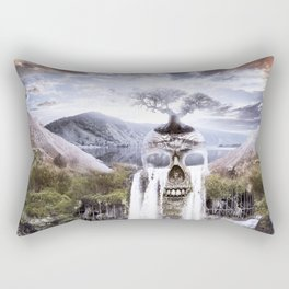 Skullcrusher Mountain Rectangular Pillow