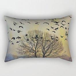 Bird Watching  - JUSTART © Rectangular Pillow
