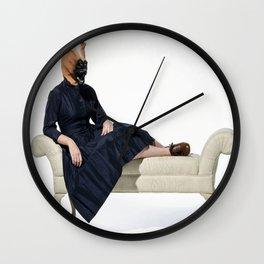 Fainting chair horse Wall Clock