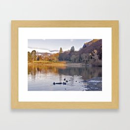 By the Lakeside - Derwent Water Framed Art Print