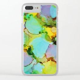 Rainbow Ice Creams Clear iPhone Case
