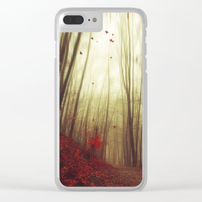 Leaf by Leaf Clear iPhone Case