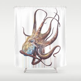 He'e - Octopus Shower Curtain