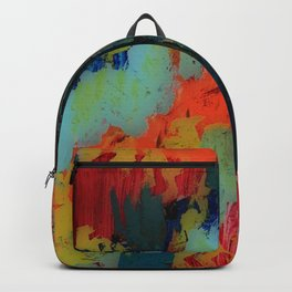 Painted Frenzy Backpack