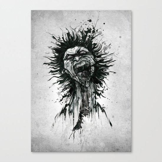 Zomb'INK Canvas Print
