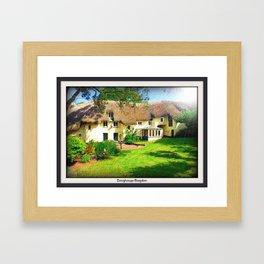 Devon Long House 2 Framed Art Print