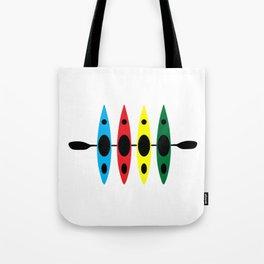 Four Kayaks | DopeyArt Tote Bag