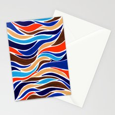 Waterfall of colors Stationery Cards