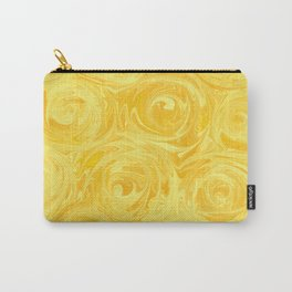 Honey Yellow Roses Abstract Carry-All Pouch