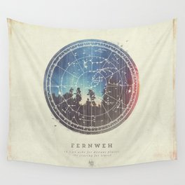 Fernweh Vol 3 Wall Tapestry