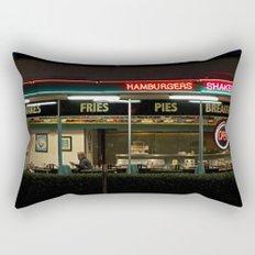 A Night at George's Diner Rectangular Pillow
