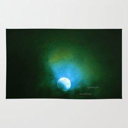 """""""Suspension Moon #64"""" Rug"""