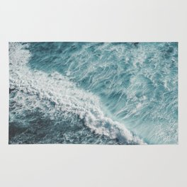 Saltwater Feelings Ocean Surf Rug