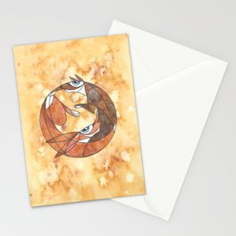 Aesop's Fable: The Hare And The Hound Stationery Cards
