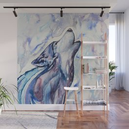 Wolf Howl Wall Mural