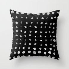 don't go dark Throw Pillow