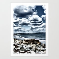 Hampton Beach Art Print