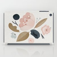 vintage flowers iPad Cases featuring vintage flowers; by Pink Berry Patterns
