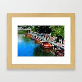 Travel 3 Framed Art Print