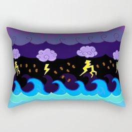 Coffee Storm Rectangular Pillow