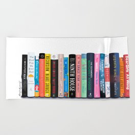Best Books of the Year Beach Towel