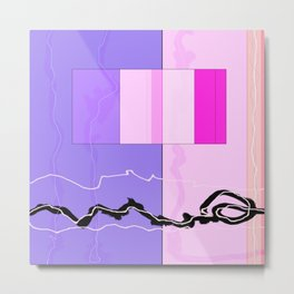 Squares combined no. 9 Metal Print
