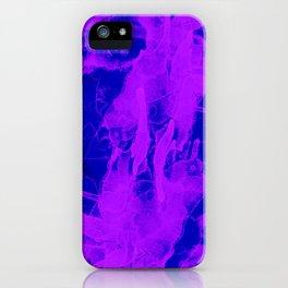 Microcosmos Violeta iPhone Case