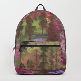 Secret cave to the land of gold Backpack
