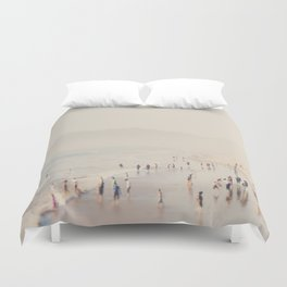 standing on the top of the world ... Duvet Cover