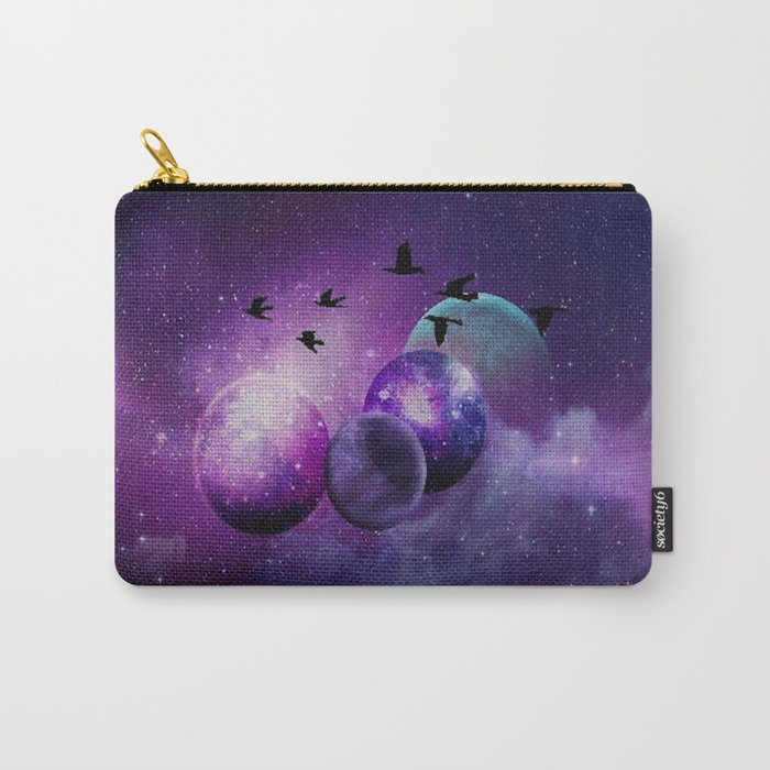 Space birds Carry-All Pouch