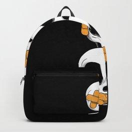 Cute Skulls No Evil II Backpack