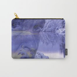 Frozen Eyes Carry-All Pouch