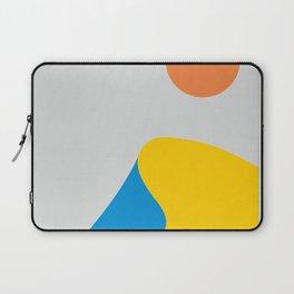 Sand dunes in the desert vintage artwork Laptop Sleeve