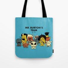 Mr. Burton's Team Tote Bag