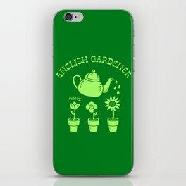 English Gardener iPhone Skin