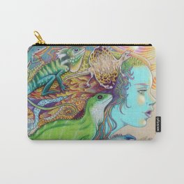 A Tangle Of Lizards, Lizard Art Carry-All Pouch
