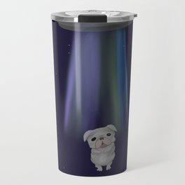 Pugs and aliens Travel Mug