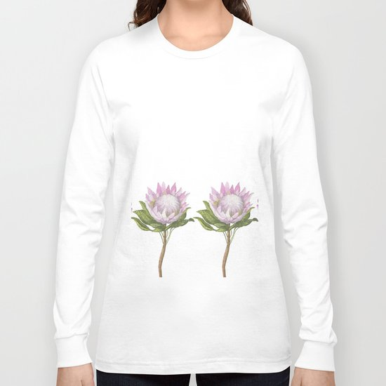 Beautiful Lotus Long Sleeve T-shirt