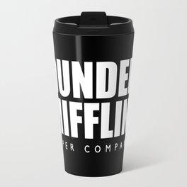 Dunder Mifflin (White) - the Office Travel Mug