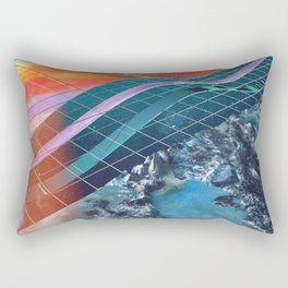 Broken Dimension Rectangular Pillow