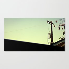 pole in the sky Canvas Print