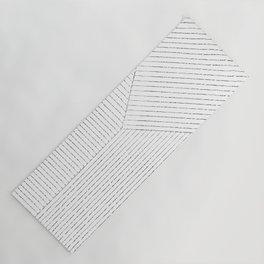 Lines Art Yoga Mat