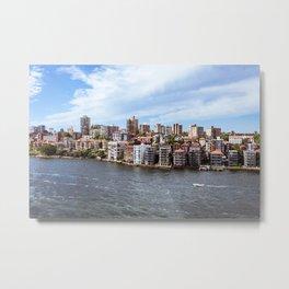 By Sydney Harbour Metal Print