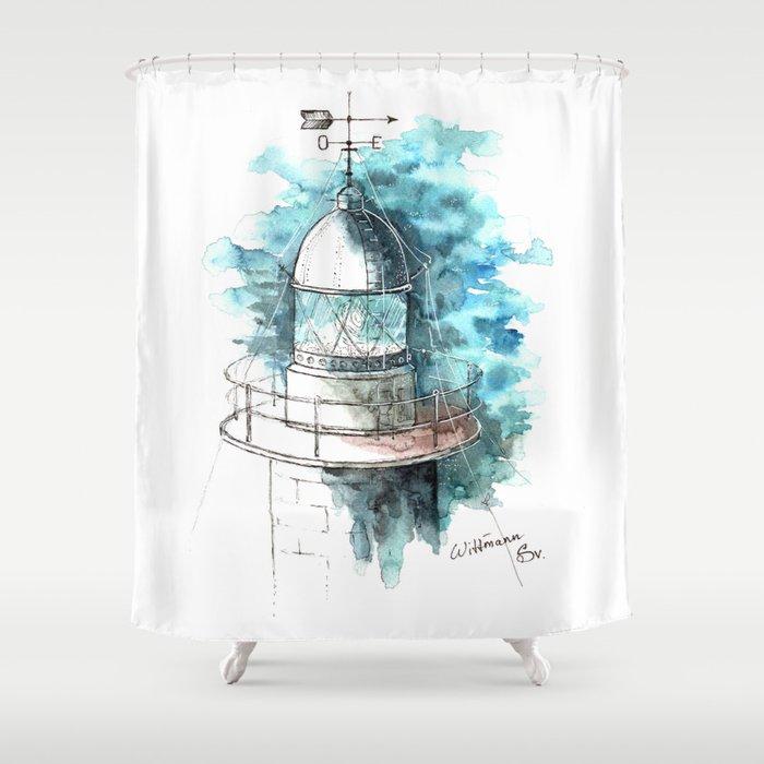 Lighthouse #2 Shower Curtain